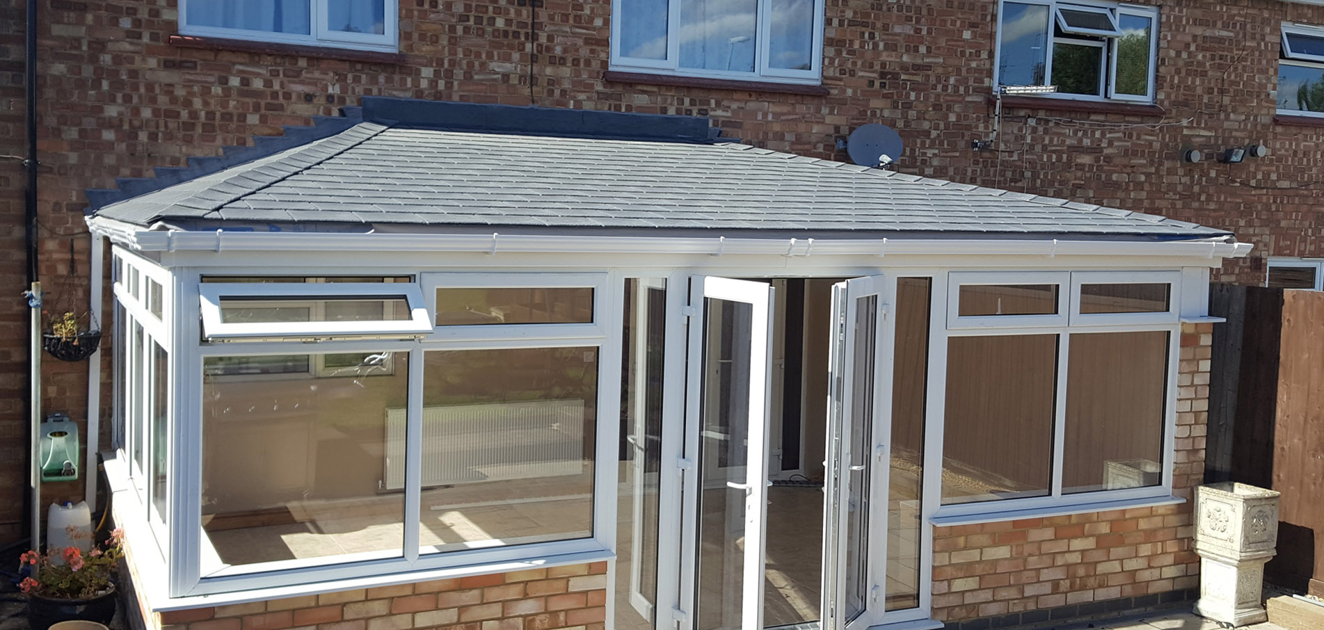 Conservatory Roof Conversion >> Tiled Conservatory Roof Conversion Northampton Milton Keynes
