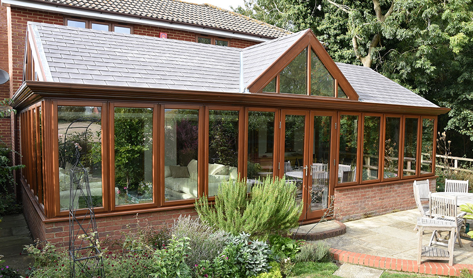 Insulated conservatory roof Bedford