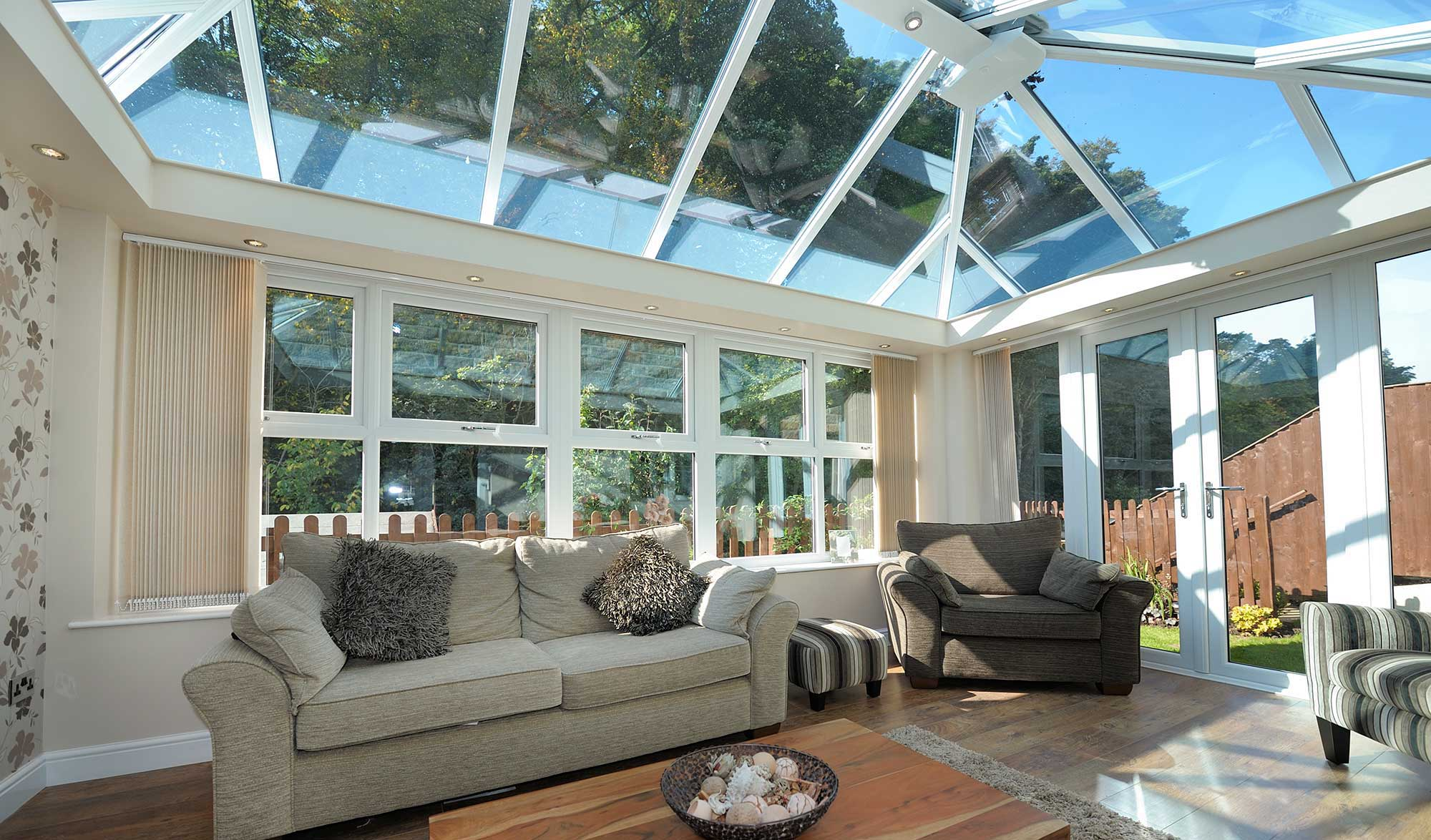 Solar Controlled Glass Roofs Solar Controlled Glass Roof Northampton Kettering Wellingborough Bedford Towcester Milton Keynes Smart Conservatory Solutions